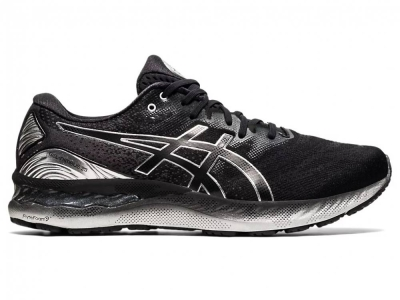 ASICS MEN RUNNING GEL-NIMBUS 23 PLATINUM SHOES 1011B156-001