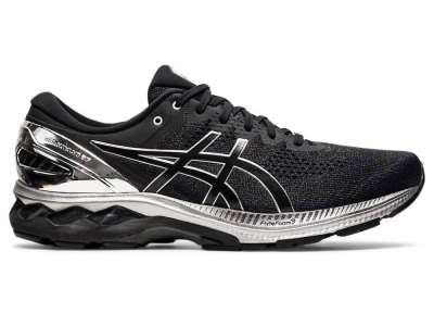 ASICS MEN RUNNING GEL-KAYANO 27 PLATINUM SHOES 1011B158-001