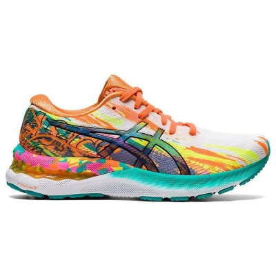 ASICS WOMEN RUNNING GEL-NIMBUS 23 NP SHOES 1012B011-700