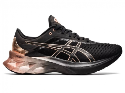ASICS WOMEN RUNNING NOVABLAST PLATINUM SHOES 1012B014-001