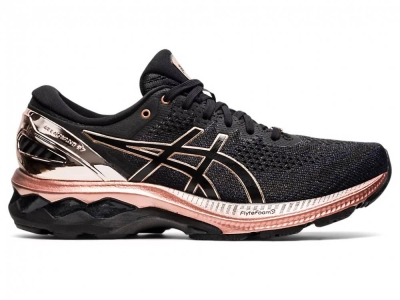 ASICS WOMEN RUNNING GEL-KAYANO 27 PLATINUM SHOES 1012B015-001