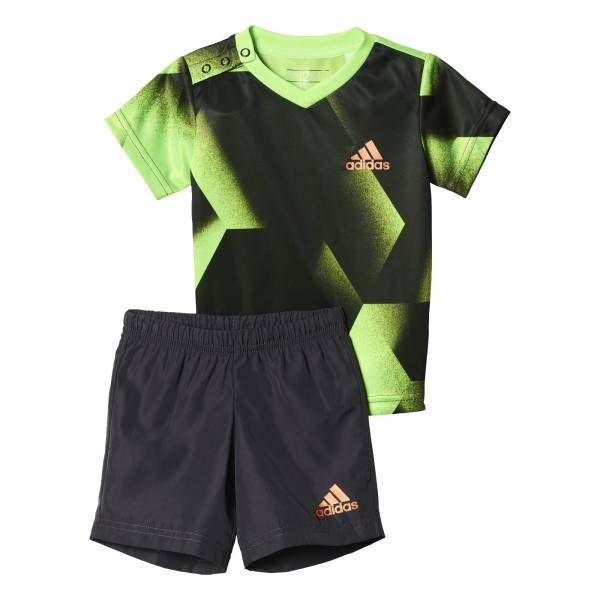 ADIDAS PRINTS INFANT T-SHIRT+SHORTS SET BK3014