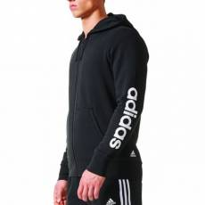 ADIDAS MEN CLOTHING ESSENTIALS FULL ZIP HOODIE BR4058