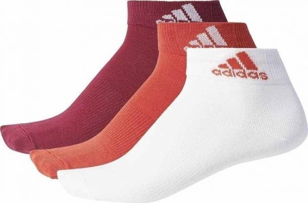 ADIDAS PERFORMANCE 3PAIR ANKLE THIN SOCKS BS1707