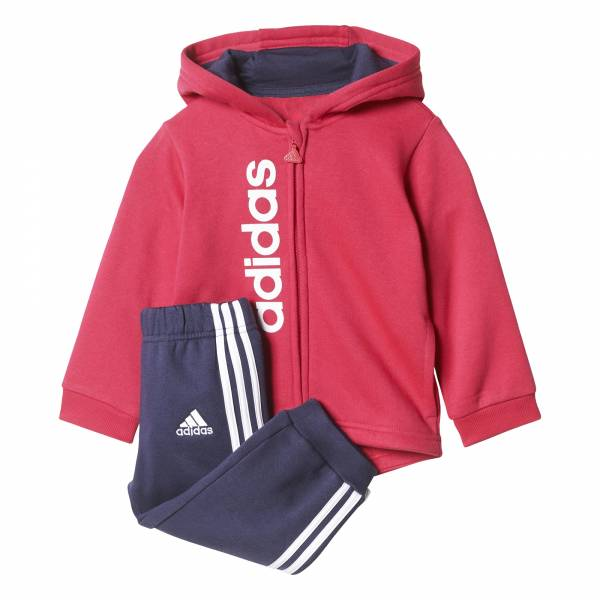 ADIDAS INFANT FLEECE HOODIE JOGGER SET CE9569