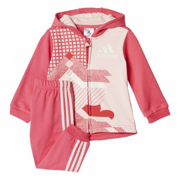 ADIDAS INFANT FULL ZIP JOGGER SET CE9657