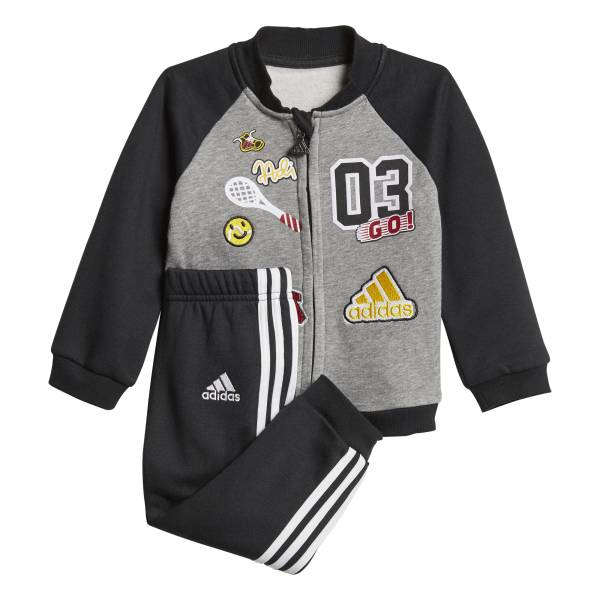 ADIDAS INFANT FUN FLEECE JOGGER SET CE9729