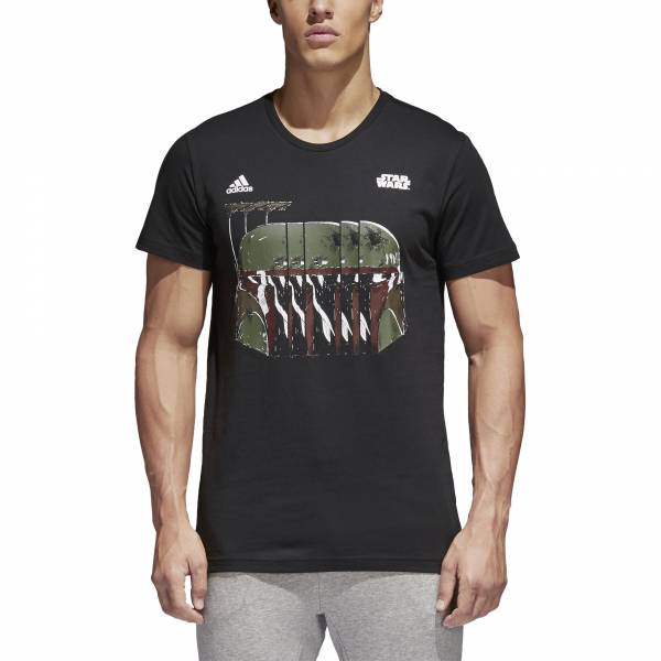 ADIDAS MEN ATHLETICS STAR WARS BOBA FETT TEE CE2205