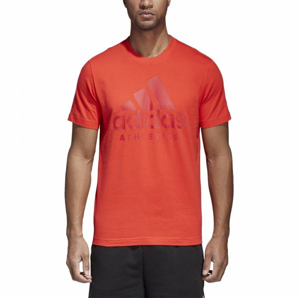 ADIDAS MEN ATHLETICS SPORT ID BRANDED TEE CF9557