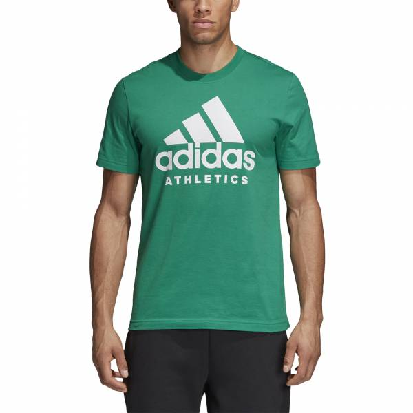 ADIDAS MEN ATHLETICS SPORT ID BRANDED TEE CF9561