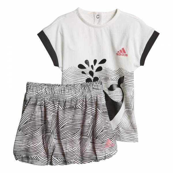 ADIDAS GIRLS TRAINING SUMMER FUN SET CF7421