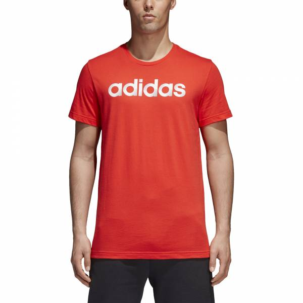 ADIDAS MEN ATHLETICS SLICED LINEAR TEE CV4513