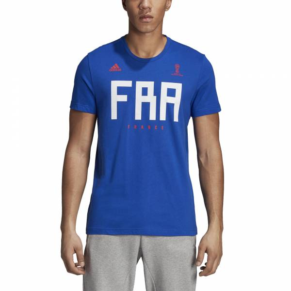 ADIDAS MEN FOOTBALL FIFA WORLD CUP 2018 FRANCE TEE CW1988