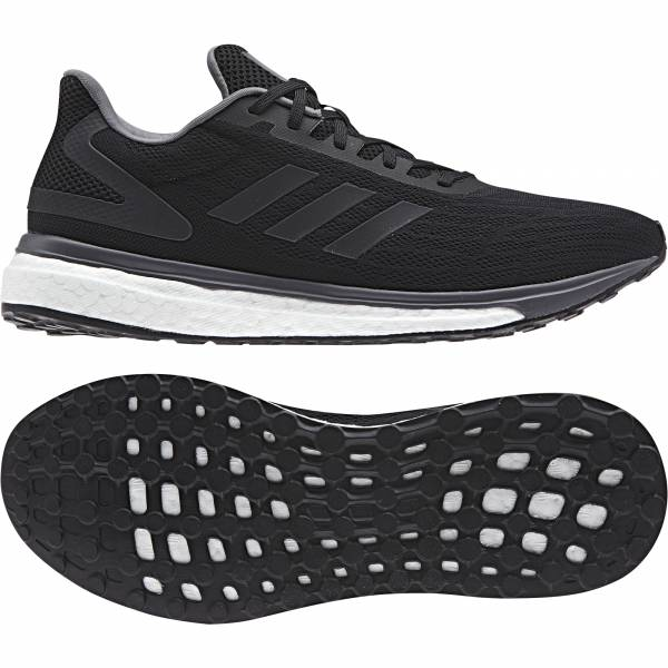 ADIDAS MEN RUNNING RESPONSE BOOST SHOES BB3617