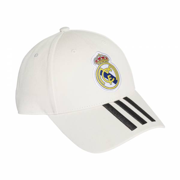 ADIDAS ACCESSORIES REAL MADRID 3 STRIPES CAP CY5600