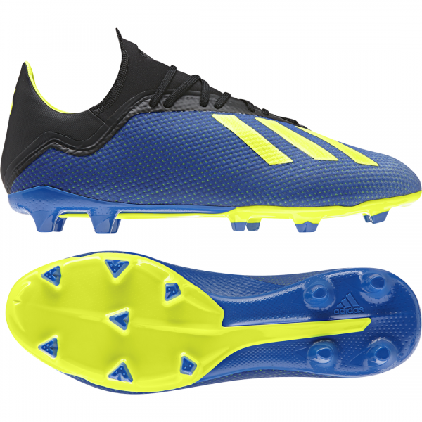 ADIDAS MEN FOOTBALL X 18.3 FIRM GROUND BOOTS DA9335