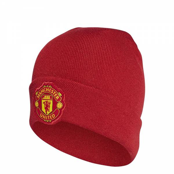 ADIDAS ACCESSORIES MANCHESTER UNITED FC WOOLIE BEANIE CY5592
