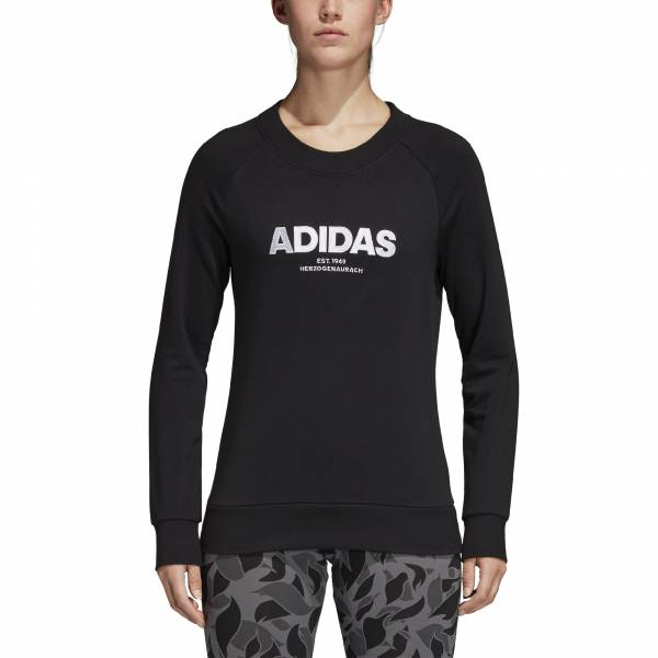 ADIDAS WOMEN CLOTHING ESSENTIALS ALLCAP SWEATSHIRT CZ5690