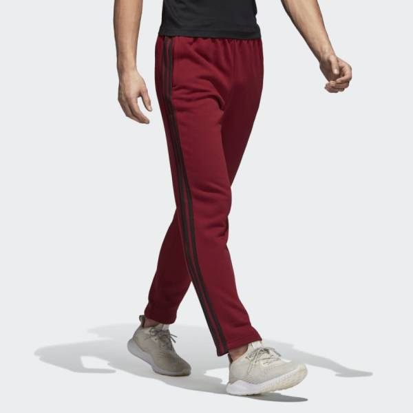 ADIDAS MEN CLOTHING ESSENTIALS 3-STRIPES TAPARED FLEECE PANT CZ7413