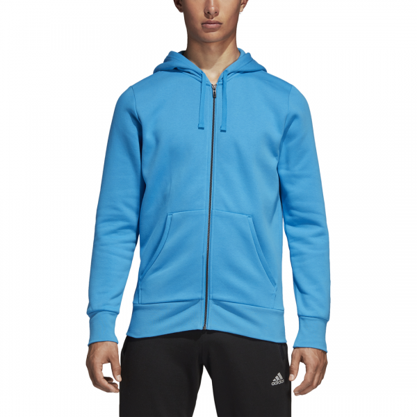 ADIDAS MEN CLOTHING ESSENTIALS LINEAR FULL ZIP HOODIE DN8798