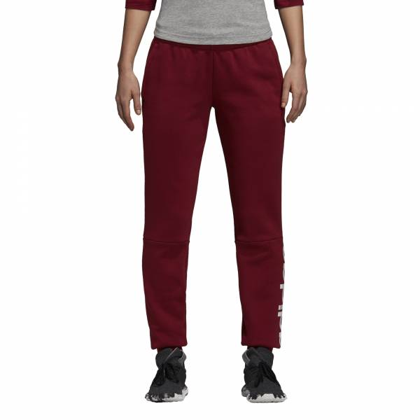 ADIDAS WOMEN CLOTHING ESSENTIALS LINEAR FLEECE PANT DI0109