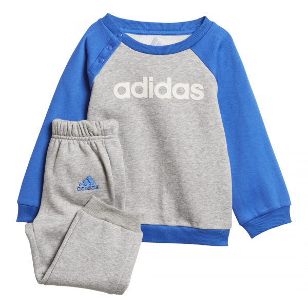 ADIDAS INFANTS BOYS LINEAR FLEECE JOGGER SET DJ1569