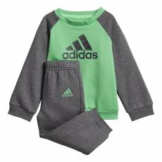 ADIDAS INFANTS BOYS LOGO FLEECE JOGGER SET DJ1571