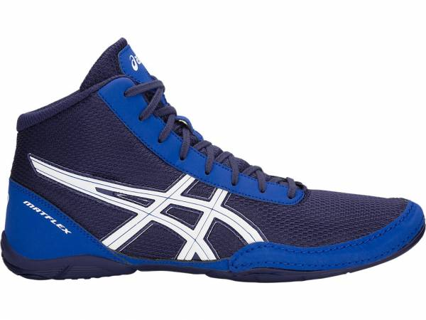 ASICS MEN TRAINING WRESTLING MARTIAL ART MATFLEX BOXING SHOES J504N-400