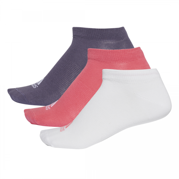 ADIDAS PERFORMANCE NO-SHOW THIN SOCKS 3 PAIRS CF7372