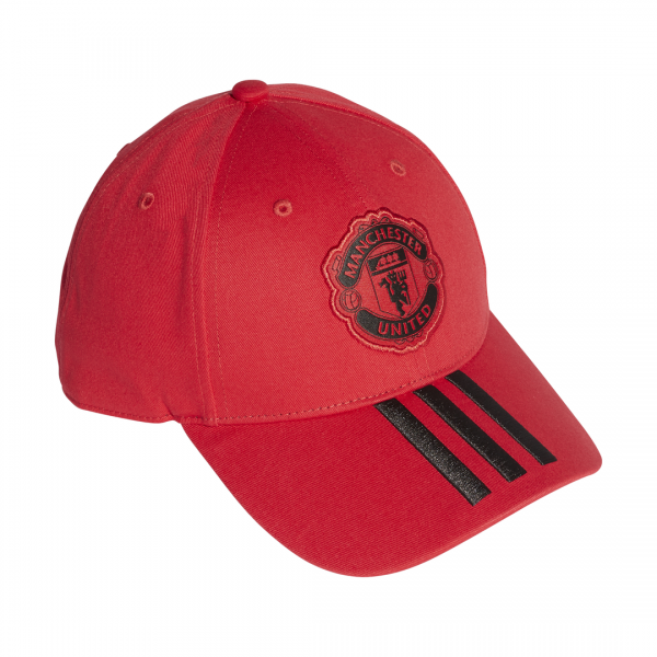 ADIDAS ACCESSORIES MANCHESTER UNITED 3-STRIPES CAP DQ1526