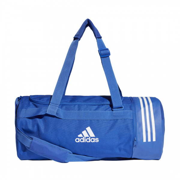 ADIDAS ACCESSORIES 3 STRIPES CONVERTIBLE GRAPHIC DUFFEL BAG MEDIUM DT8657