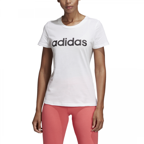 ADIDAS WOMEN CLOTHING ESSENTIALS LINEAR TEE DU0629