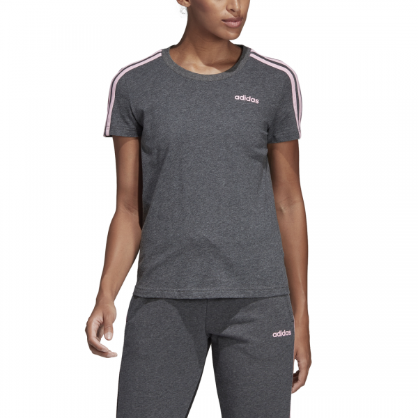 ADIDAS WOMEN CLOTHING ESSENTIALS 3 STRIPES TEE DU0632