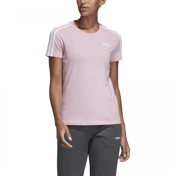 ADIDAS WOMEN CLOTHING ESSENTIALS 3 STRIPES TEE DU0633