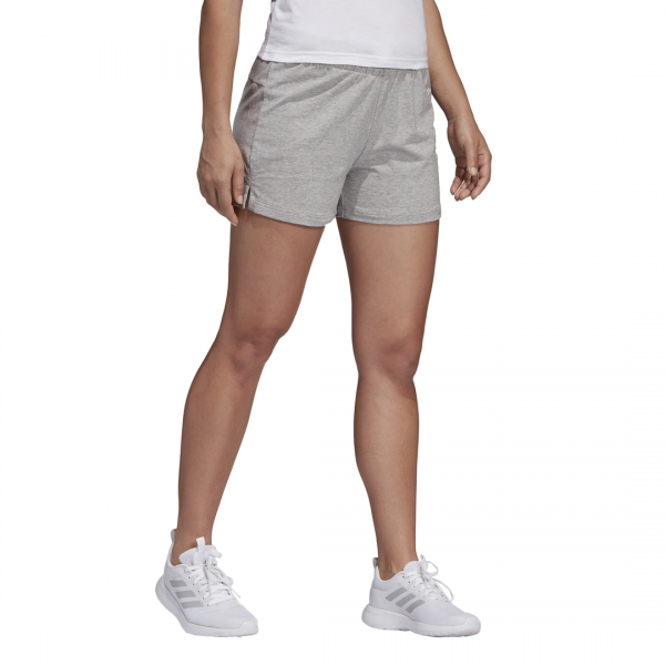 ADIDAS WOMEN CLOTHING ESSENTIALS LINEAR LOGO SHORTS DU0674