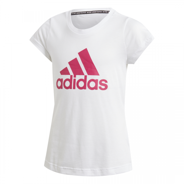 ADIDAS KIDS GIRLS TRAINING MUST HAVES BADGE OF SPORT TEE DV0321
