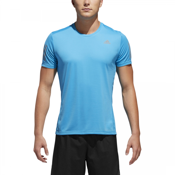 ADIDAS MEN CLOTHING RUNNING OWN THE RUN TEE DX1313
