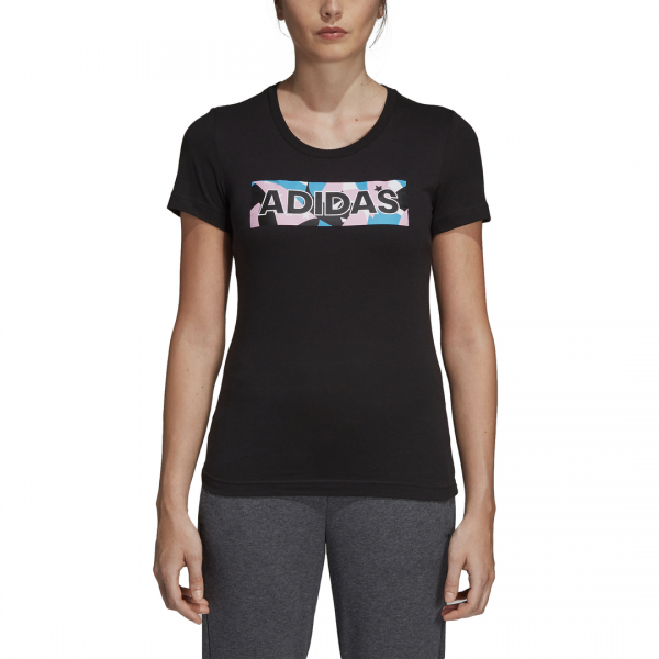ADIDAS WOMEN CLOTHING GRAPHIC TEE DV3022