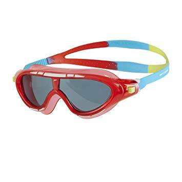 SPEEDO ACCESSORIES KIDS SWIMMING BIOFUSE RIFT GOGGLES RED 01213-C102