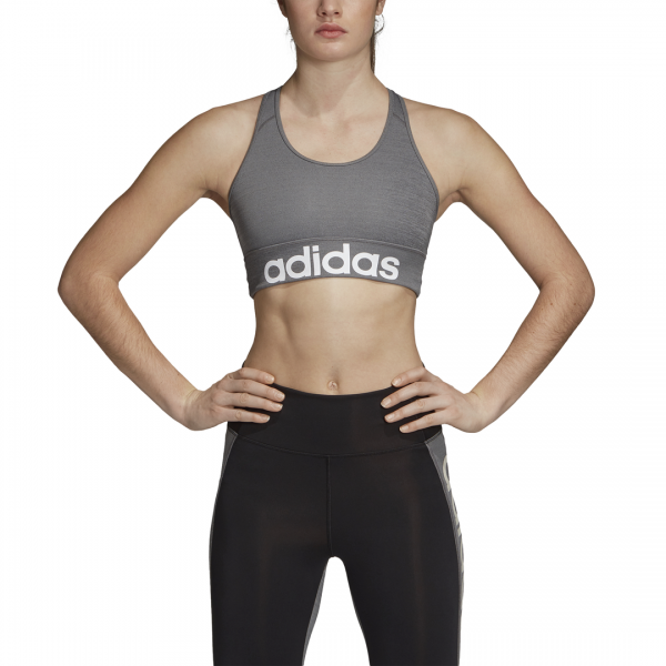 ADIDAS WOMEN CLOTHING D2M LOGO BRA DY4071