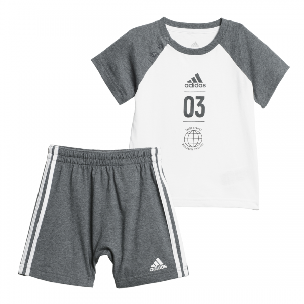ADIDAS INFANTS BOYS TRAINING SUMMER SET DV1237