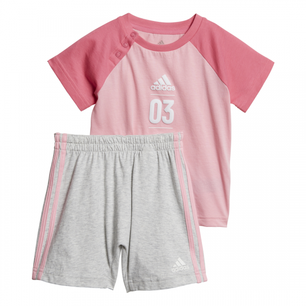 ADIDAS INFANTS GIRLS CLOTHING TRAINING SUMMER SET DV1239