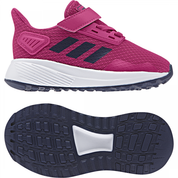 ADIDAS INFANTS GIRLS RUNNING DURAMO 9 SHOES F35108