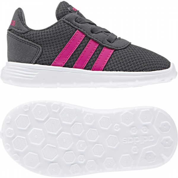 ADIDAS INFANTS GIRLS LITE RACER SHOES F35646