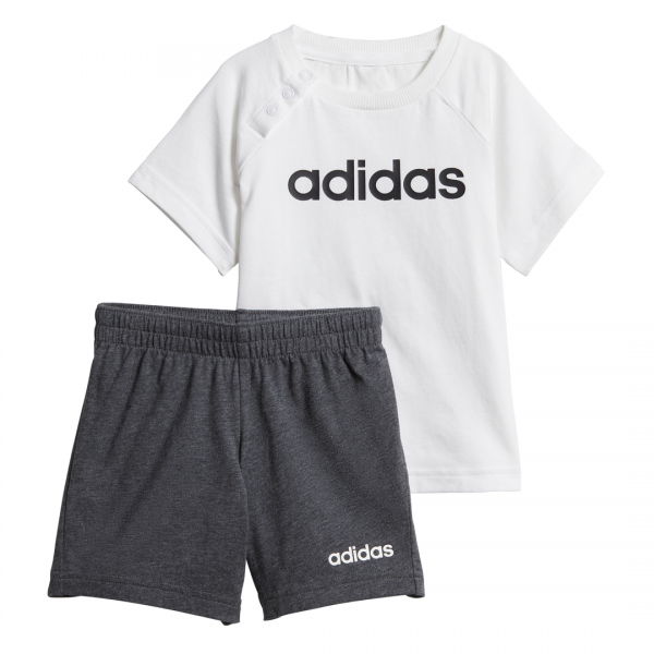 ADIDAS INFANTS BOYS CLOTHING LINEAR SUMMER SET DX2454