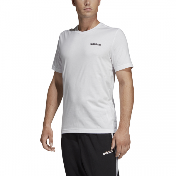 ADIDAS MEN CLOTHING TRAINING ESSENTIALS PLAIN TEE DQ3089