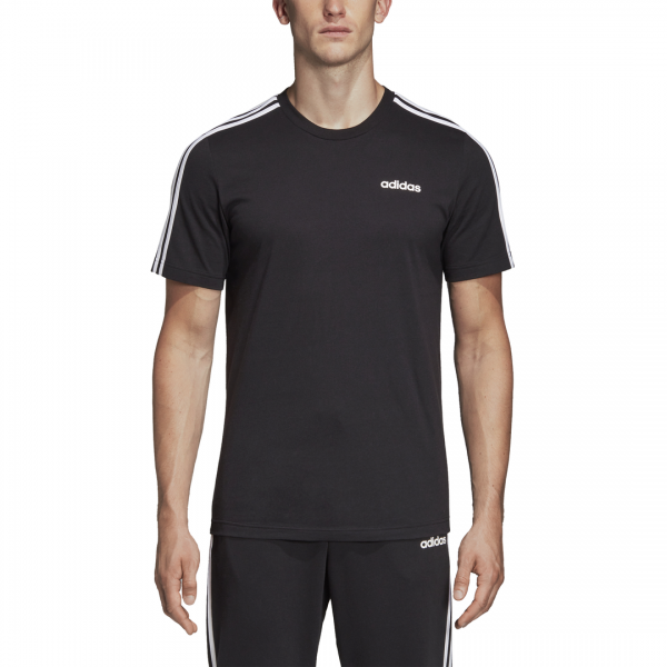 ADIDAS MEN CLOTHING ESSENTIALS 3 STRIPES TEE DQ3113