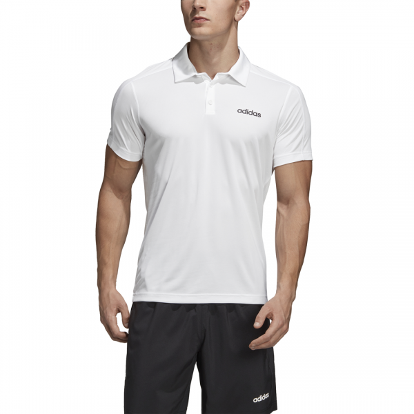 ADIDAS MEN CLOTHING TRAINING DESIGN 2 MOVE POLO SHIRT DT3049