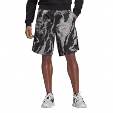 ADIDAS MEN CLOTHING ESSENTIALS ALL OVER PRINT SHORTS DW7365