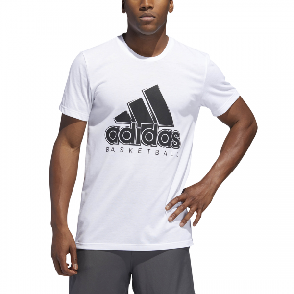 ADIDAS MEN CLOTHING BASKETBALL SOLID BOS TEE DU6303